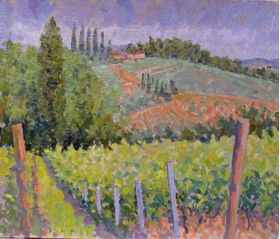 Tuscany Horton oil painting DVD